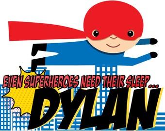 Superhero PillowCases - Personalized