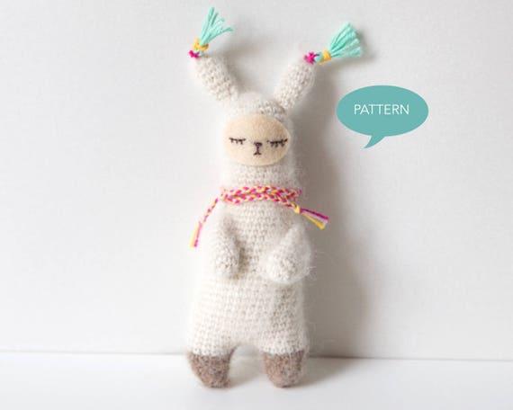 Crochet pattern Alpaca Alpaca Amigurumi Amigurumi Alpaca