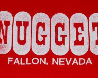 vintage 80's Nugget Fallon Nevada Tshirt