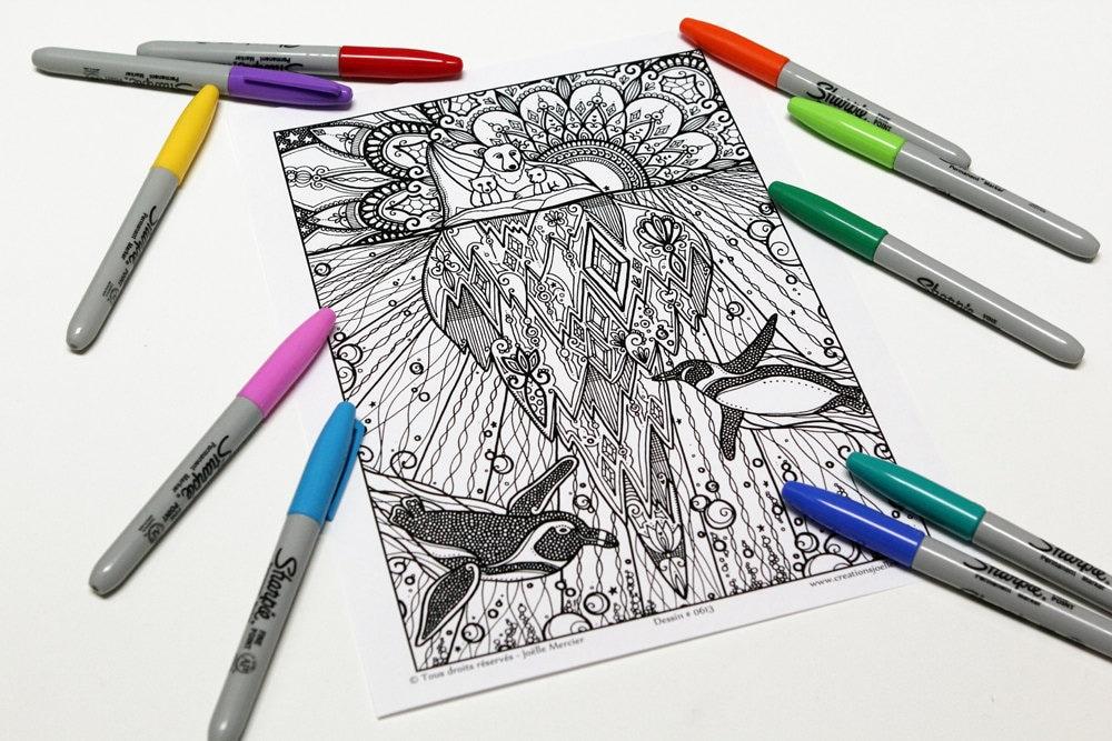 Mandala-Färbung Zeichnung 0613 gedruckt auf Pappe Färbung