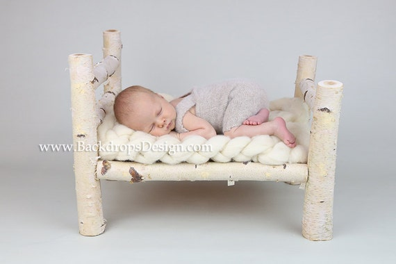 Newborn Bed Props Photography
