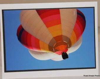 photo card, hot air balloon, New Mexico, Balloon Fiesta