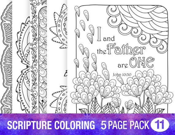 5 bible verse coloring pages inspiration quotes diy adult