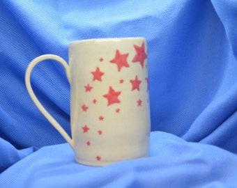 Star Mug, Coffee Mug, Star Cup, Unique Mug