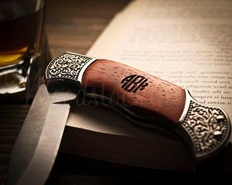 Personalized Pocket Knife Groomsmen Gift for Boyfriend Father Gift for Mens Gift for Him Groomsmen Knifes Best Man Gift Engraved Knife