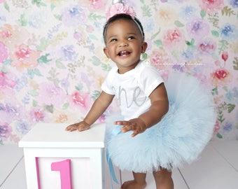 Unicorn FIRST BIRTHDAY OUTFIT, Unicorn Cake Smash Outfit, Unicorn Birthday, Smash Cake Outfit Girl, Unicorn Tutu Set, 1st Birthday Tutu