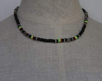 Rasta Necklace - Jamaican Necklace - Rasta Jewelry - Cool Necklaces - Necklaces for Men - Necklaces for Women - Jewelry for Men & Women