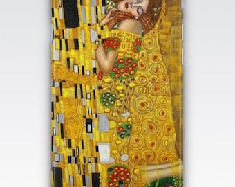 Case for iPhone 8, iPhone 6s,  iPhone 6 Plus,  iPhone 5s,  iPhone SE,  iPhone 5c,  iPhone 7  - The Kiss by Gustav Klimt