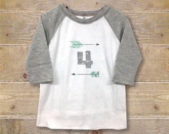 Fourth Birthday Shirt, Four Shirt, Fourth Birthday Outfit, 4th Birthday Shirt, Boy's Clothes, Boy's Shirt, Trendy Shirt, Birthday Gift, Cool