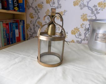 Vintage French Cylindrical Lantern