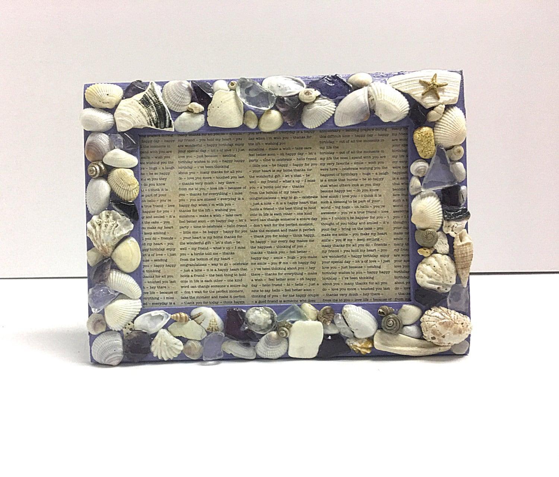 Encantador Marco Del Seashell Cresta - Ideas de Arte Enmarcado ...