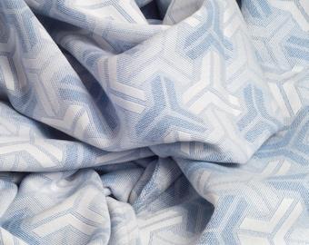Trio Blue Handmade Cotton Throw 142 x 180 cm