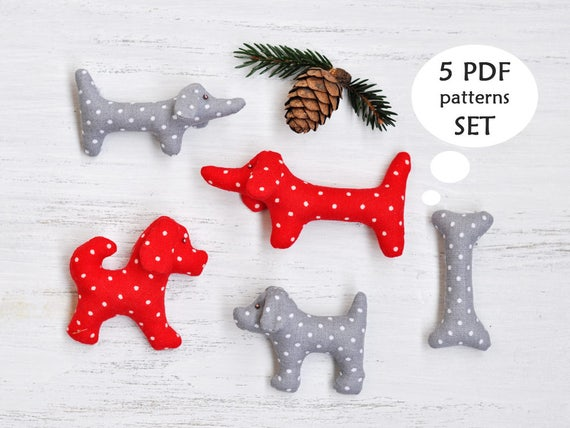 Dachshund Sewing Pattern Images - origami instructions easy for kids