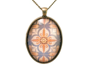 Pattern Photo Pendant
