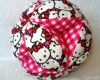 Hello Kitty Easy-Catch Baby/Toddler Clutch Ball - Baby Shower Gift