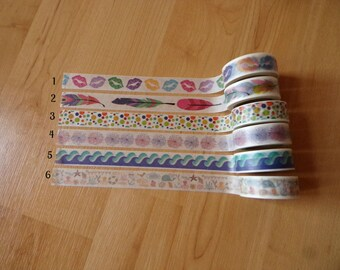 Summer washi sample