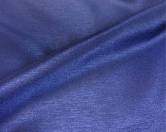 Shot Royal Blue Polyester Fabric - 44 Inches Wide
