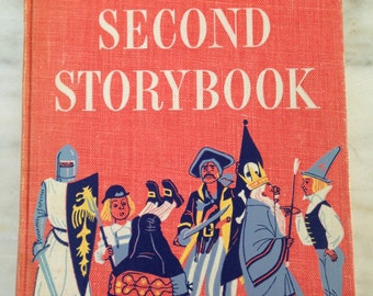 vintage Better Homes and Garden Second Storybook selected by Betty O'Connor, 1952 copyright, hardback