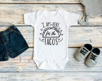 Funny baby clothes - Cute baby clothes - Funny baby gift - Taco Tuesday - Taco baby - Taco party - Taco shirt - Baby girl clothes - Baby boy