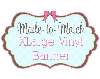 Extra Large Vinyl Banner for Craft Shows, Events and More - 189149967
