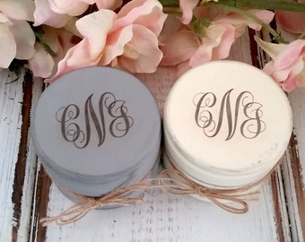 Personalized Ring Holder | Ring Box | Rustic Wedding | Set of Two, Engraved Wooden Ring Boxes, Ring Bearer Boxes, Burlap, Monogrammed Box
