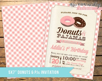 Donut Shop Collection Party Decor Pack