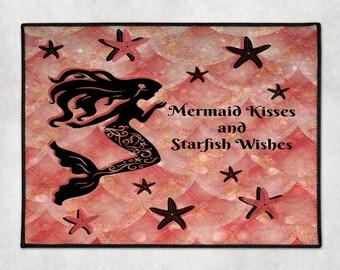 Mermaid Door Floor Mat