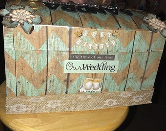 Wedding envelope holder