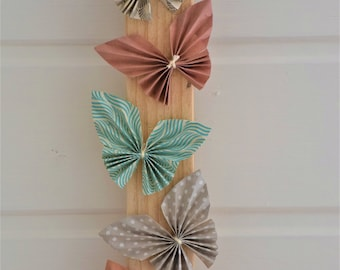 Decorative wall origami Butterfly