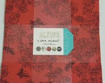"ALPINE by Erin Michael precut 10"" layer cake quilting fabric"