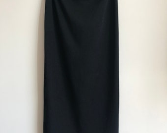 Vintage Maxi Pencil Skirt