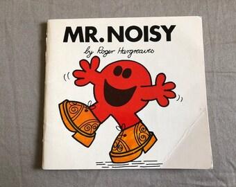 Vintage Roger Hargreaves Mr. Noisy Children's Book