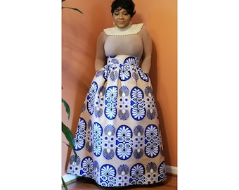 Made to order, Women clothing, African women clothing, Maxi skirt