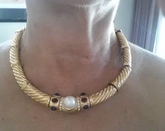 Ciner designer necklace 1980's