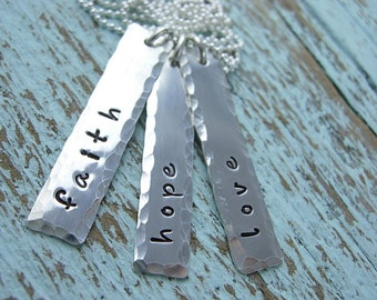 Name Charms - Engraved Name Tags - Name Bars - Name Charm Necklace