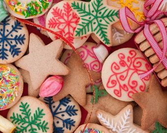 Christmas Cookies Shower Gel, Whipped Body Butter, Lotion, Body Spray, Bath Soak, Shampoo or Conditioner
