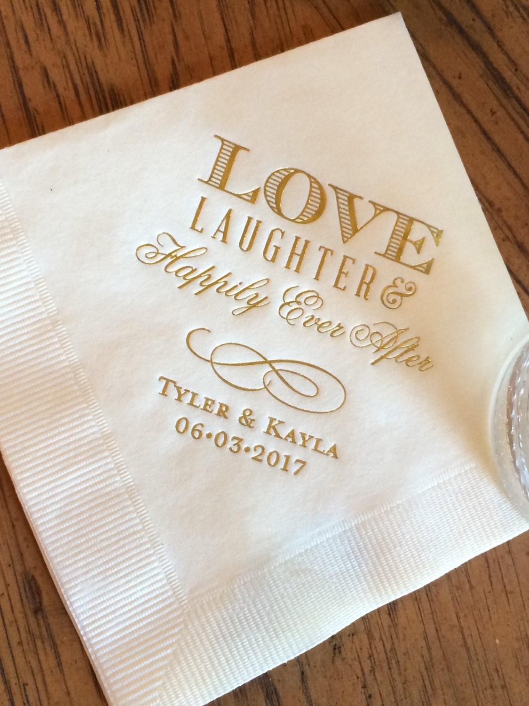 Personalizada boda servilletas servilletas personalizadas nupcial ducha novia servilletas - Servilletas personalizadas ...