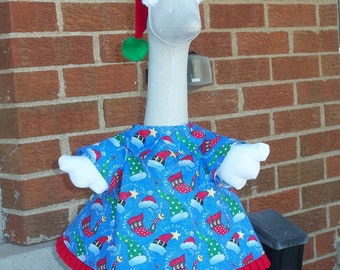 Santa's Helper - Goose Outfit by Julie