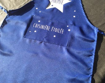 Name personalized Grandma apron party big day...