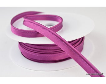 10 mm violet1175 color satin piping