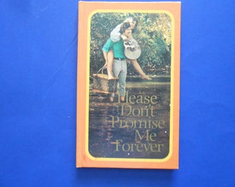 Please Don't Promise Me Forever, a Vintage Hallmark Gift Book, Photographs