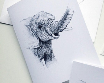 Juvenile Elephant Stationery