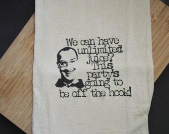 Buster Bluth Flour Sack Tea Towel