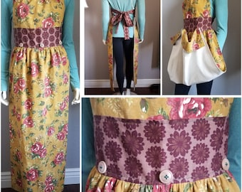 Rose Garden/Harvest/Gathering Apron