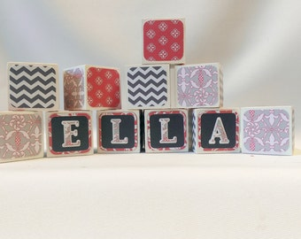 Decorative Blocks,  Centerpiece Blocks, Personalized Alphabet Blocks, Maternity Shoot Blocks, Gender Reveal Party Blocks, Nursery Blocks