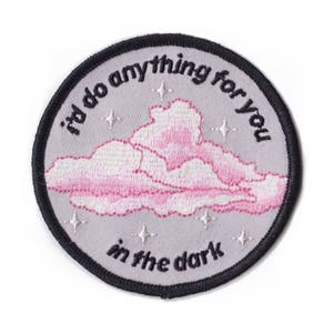 i'd do anything for you in the dark // A Frank Ocean 'Siegfried' Embroidered Patch // Cloud Version