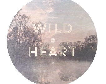 Wild at Heart - Faunascapes Plywood Print