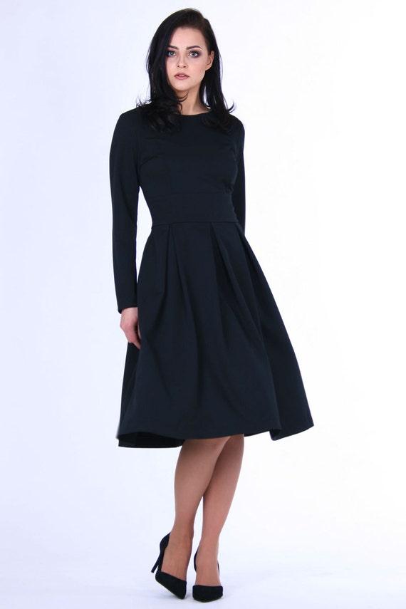 Black Dresses Plus Size Women