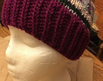 Winter Skies Knit Hat