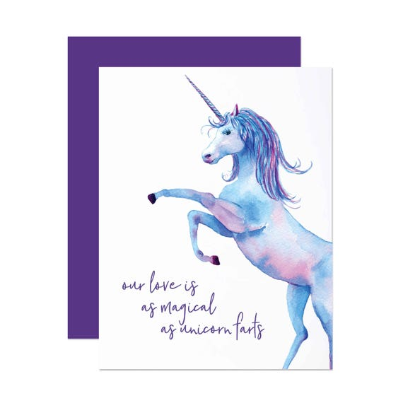 As Magical As Unicorn Farts - Valentine's Day Card